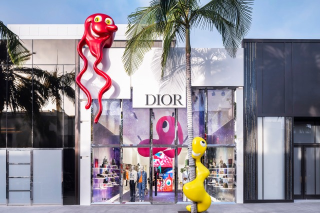 A look at the Dior Scharf collaboration.