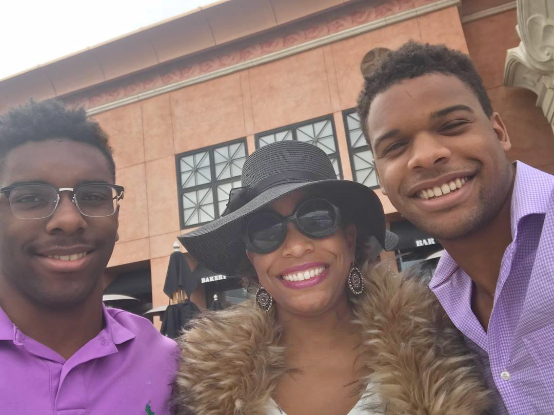 Erica Culpepper and her two sons.
