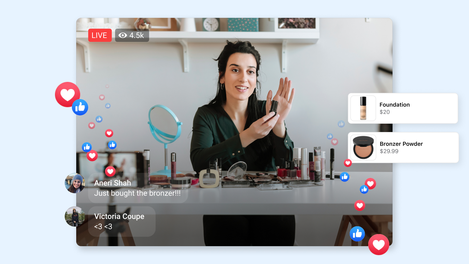 Facebook launched Live Shopping Fridays to promote shoppable livestreaming on the platform.