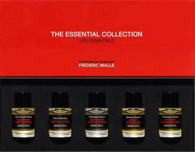 بهترین هدایای روز پدران ، برای آقایان ، ادکلن مردانه ، Essential Collection Perfumes Pour Homme 5-Piece Set، federick malle