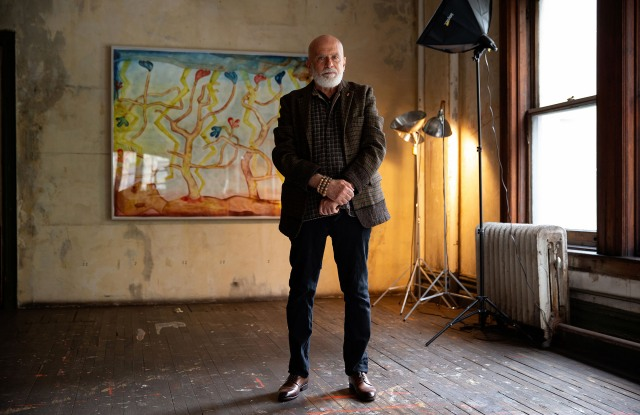 Painter Francesco Clemente on the Journey of Our Times.jpg
