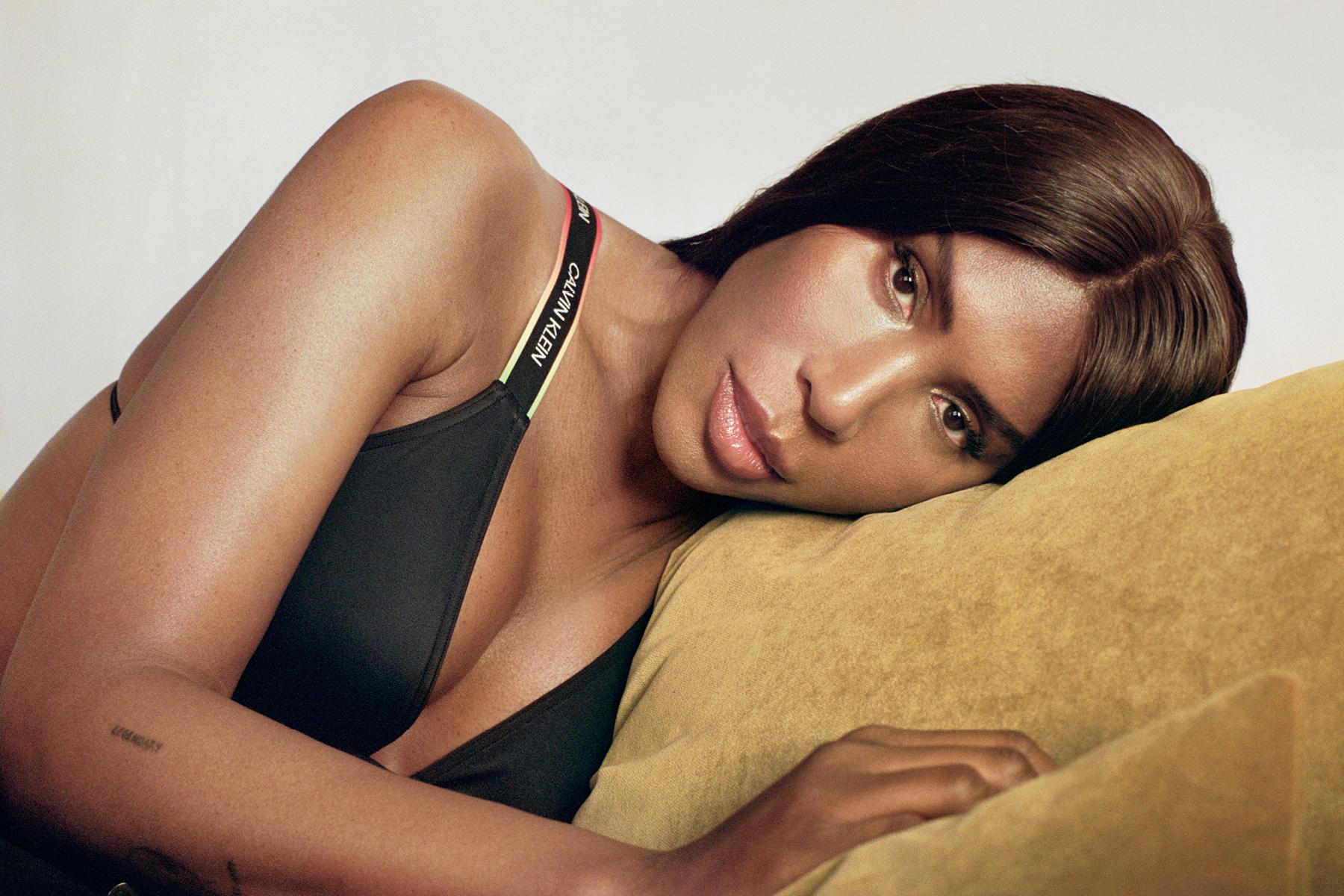 Honey Dijon in Calvin Klein's #Proudinmycalvins campaign.