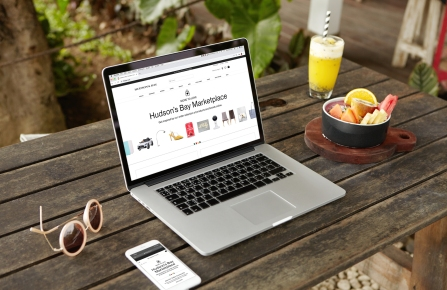 Hudson's Bay's online marketplace.