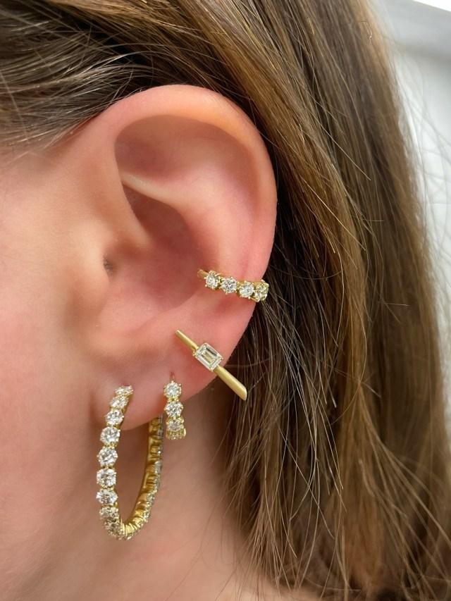A fine jewelry look from Jade Trau
