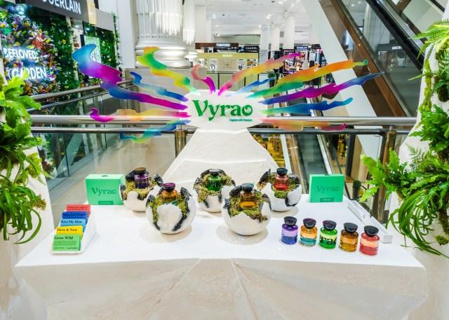 The Vyrao pop-up at Selfridges' beauty hall.