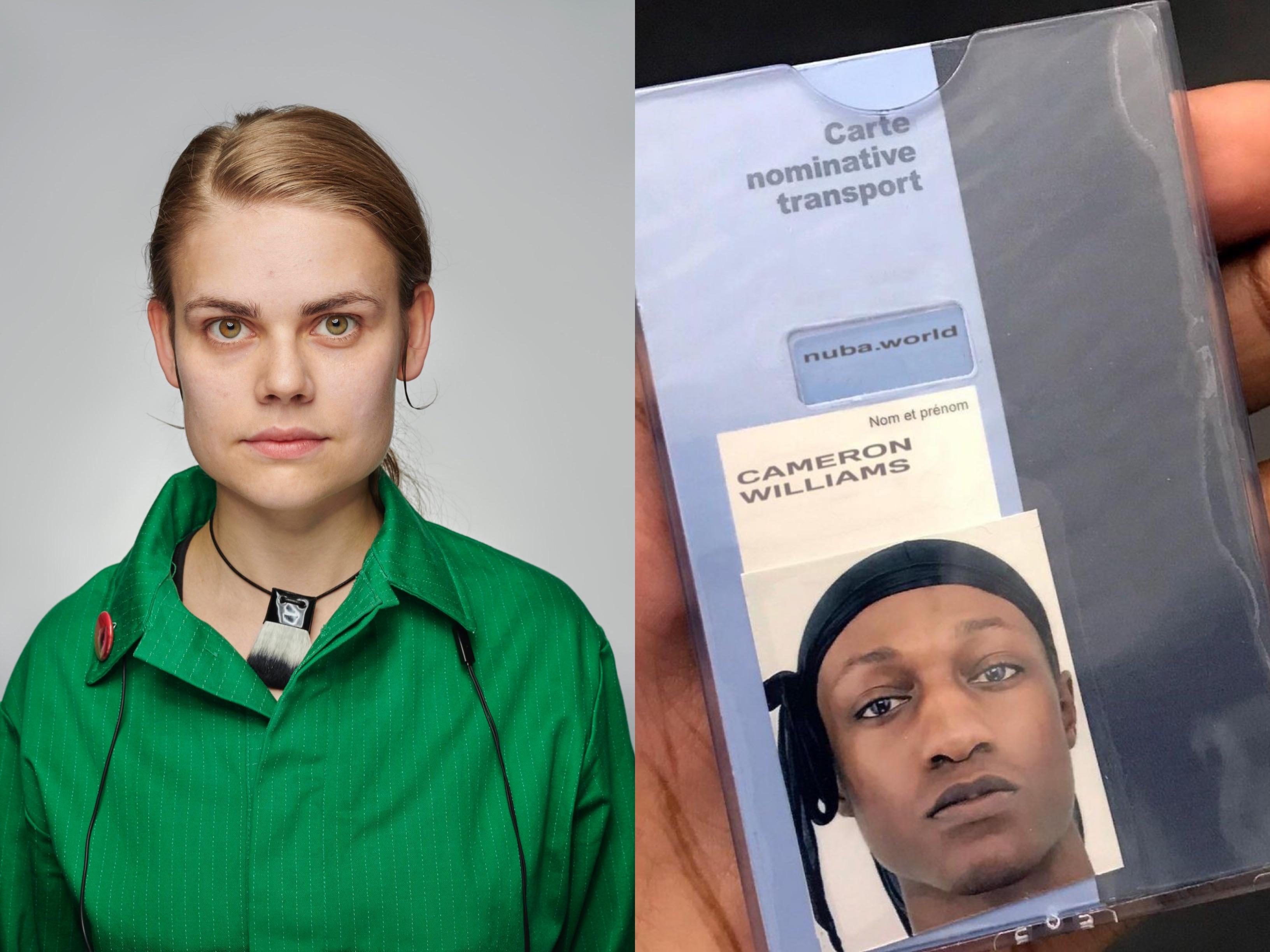 Estonian designer Johanna Parv and Cameron Williams behind the unisex label Nuba