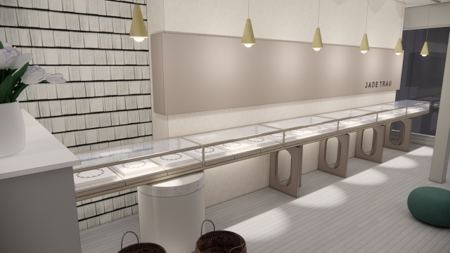 A look into the new Jade Trau flagship store