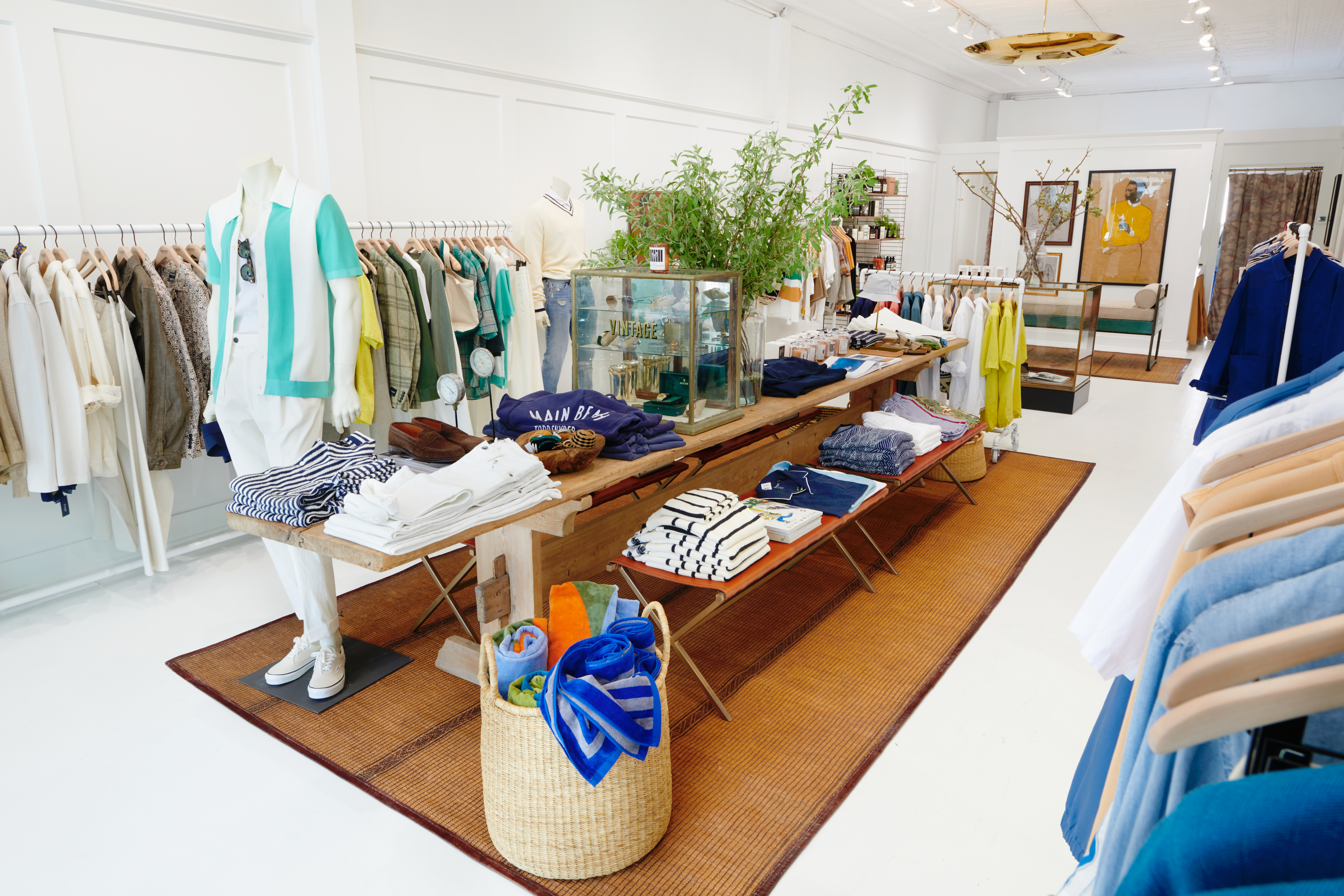 Todd Snyder's new East Hampton store.