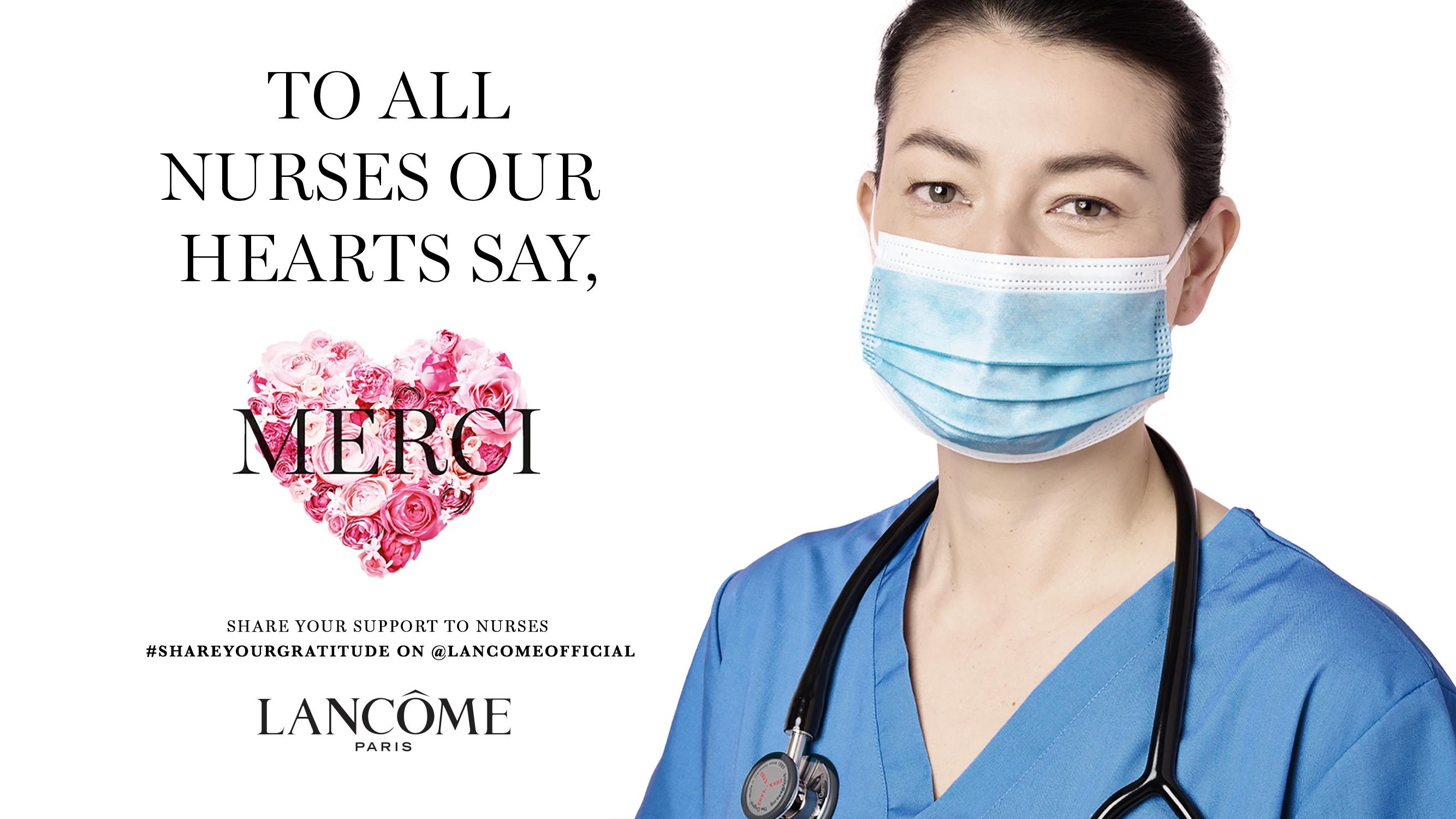 Lancôme international nurses day