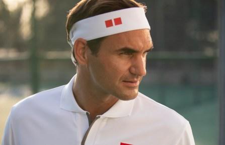 Roger Federer for Uniqlo.