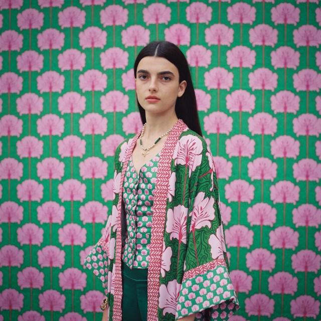 A look from Lara Rosnovsky from Kornit Fashion Week Tel Aviv.