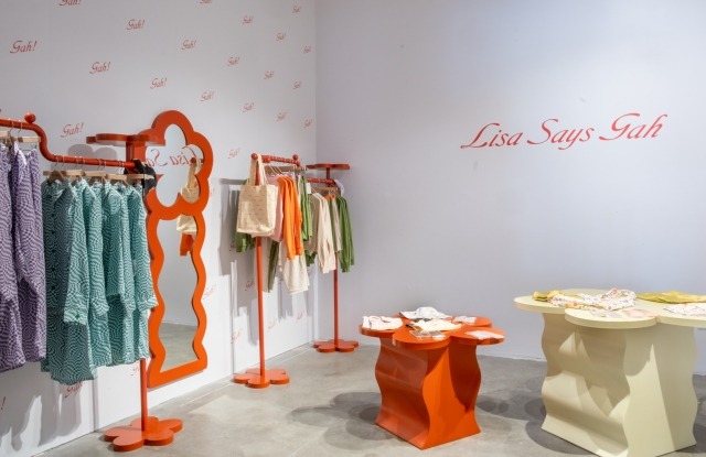 Lisa Says Gah's new pop-up at Fred Segal.