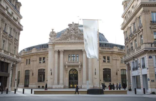 The exterior of the Bourse de Commerce – Pinault Collection in Paris.