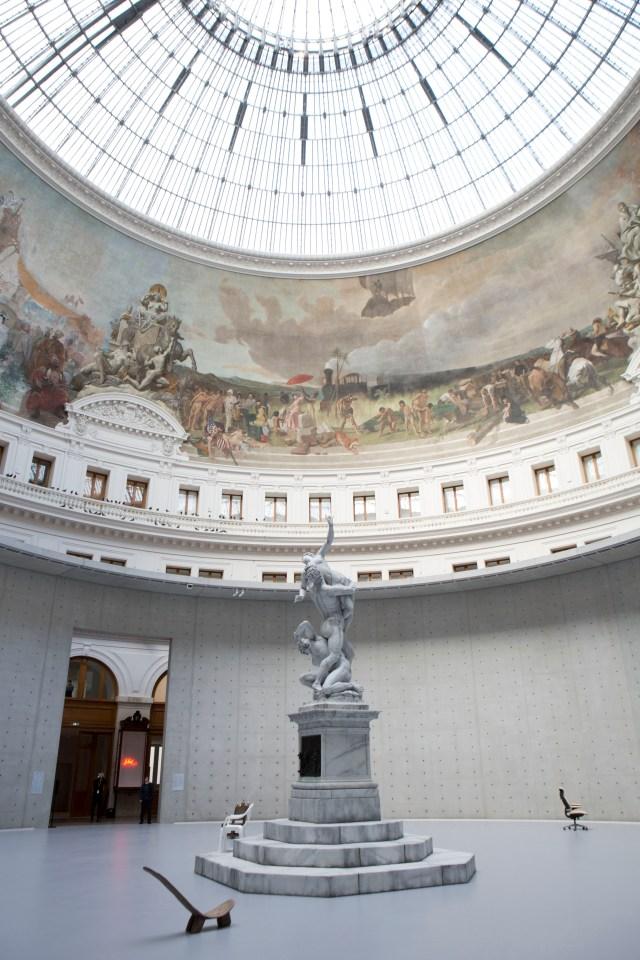 Urs Fischer art works at the Bourse de Commerce – Pinault Collection.