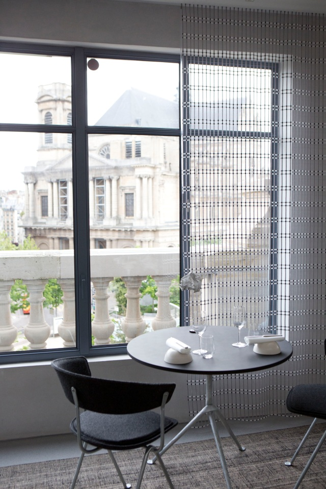 Le restaurant Halle aux grains de la Bourse de Commerce - Collection Pinault.