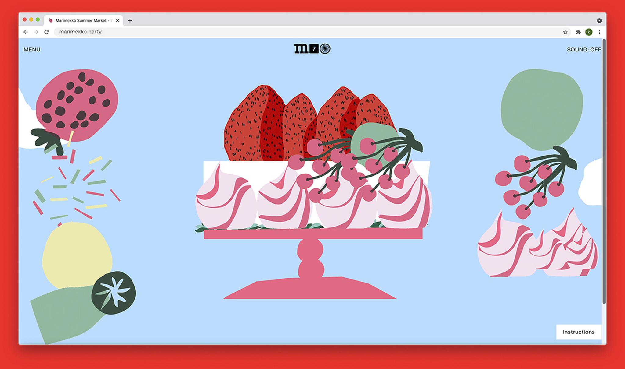 Marimekko will celebrate its 70th anniversary with a virtual event.