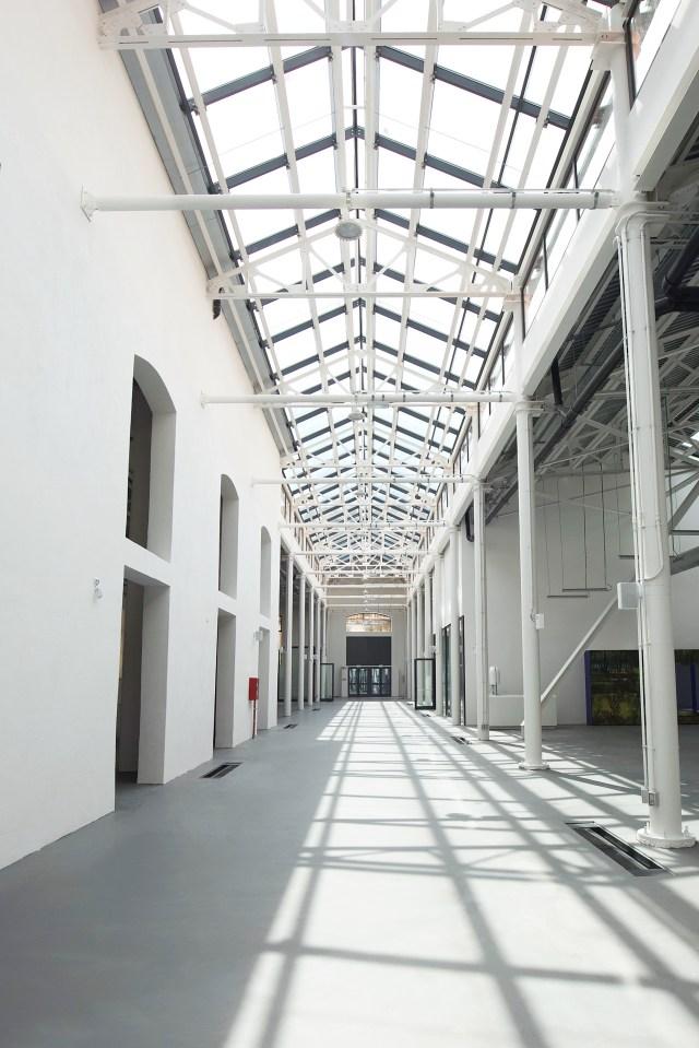 Inside Milan's ADI Design Museum.