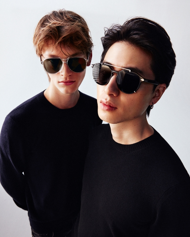Mytheresa introduced Dior eyewear earlier this year.