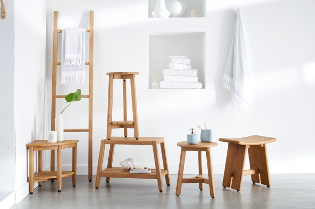 BB&B's Haven brand includes bathroom accessories and furniture.