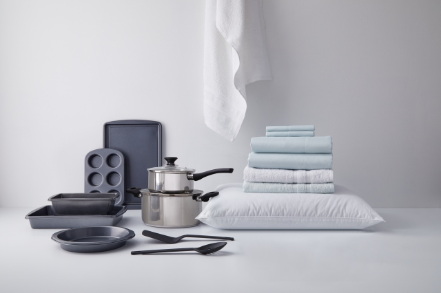 A mix of products from the Simply Essential private brand.
