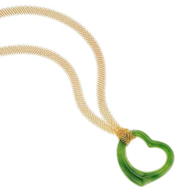 Elsa Peretti Open Heart Pendant for Tiffany & Co.