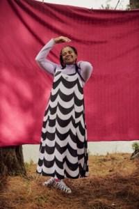 A look from the Adidas x Marimekko capsule.