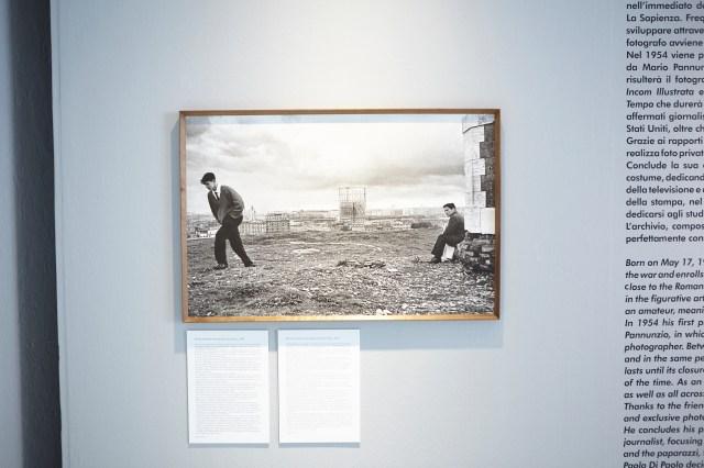 عکس مورد علاقه پائولو دی پائولو به تصویر کشیدن پازولینی (در سمت راست).
