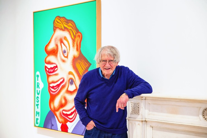 Peter Saul Hasn't Run Out of New Subjects to Paint