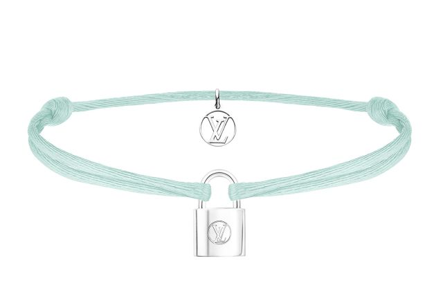 Louis Vuitton Silver Lockit