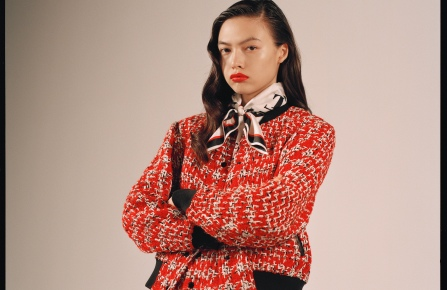 """A look from the """"Cruella"""" limited-edition capsule from Rag & Bone and Disney."""