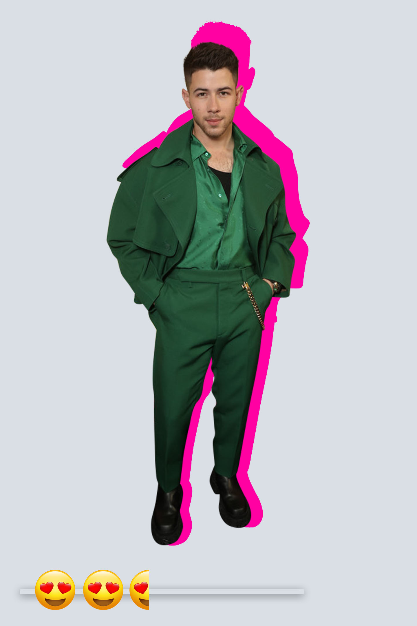 Nick Jonas at the Billboard Music Awards.
