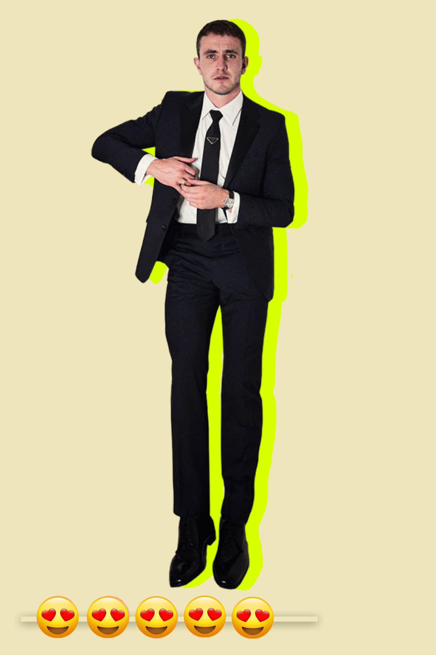 Paul Mescal in Prada at the 2021 Critics Choice Awards.