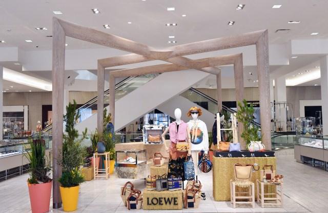 Loewe Paula's Ibiza at Neiman Marcus Beverly Hills.