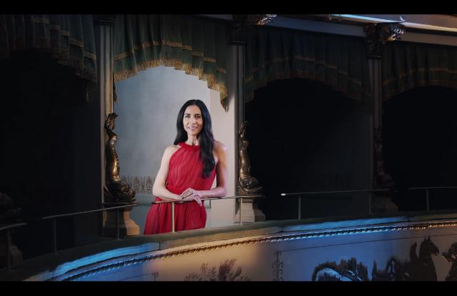 Ambra Martone in the Accademia del Profumo Awards Ceremony video.