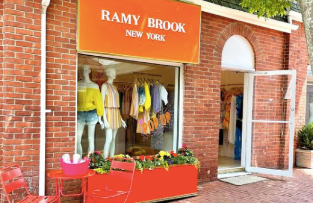 Ramy Brook will open a pop-up May 28 in Southampton, N.Y.