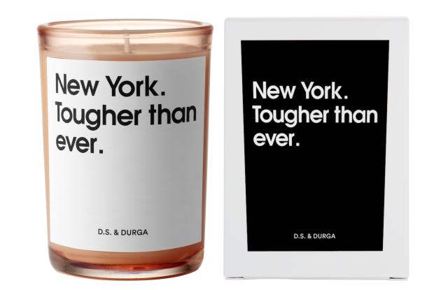 D.S. & Durga's New York City. Tougher than ever. candle.