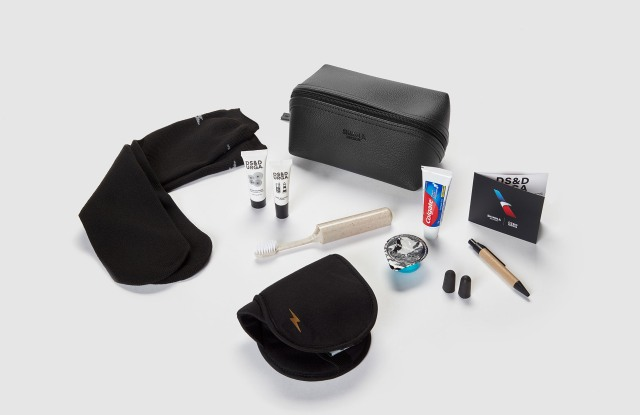 The Shinola kit for American Airlines.
