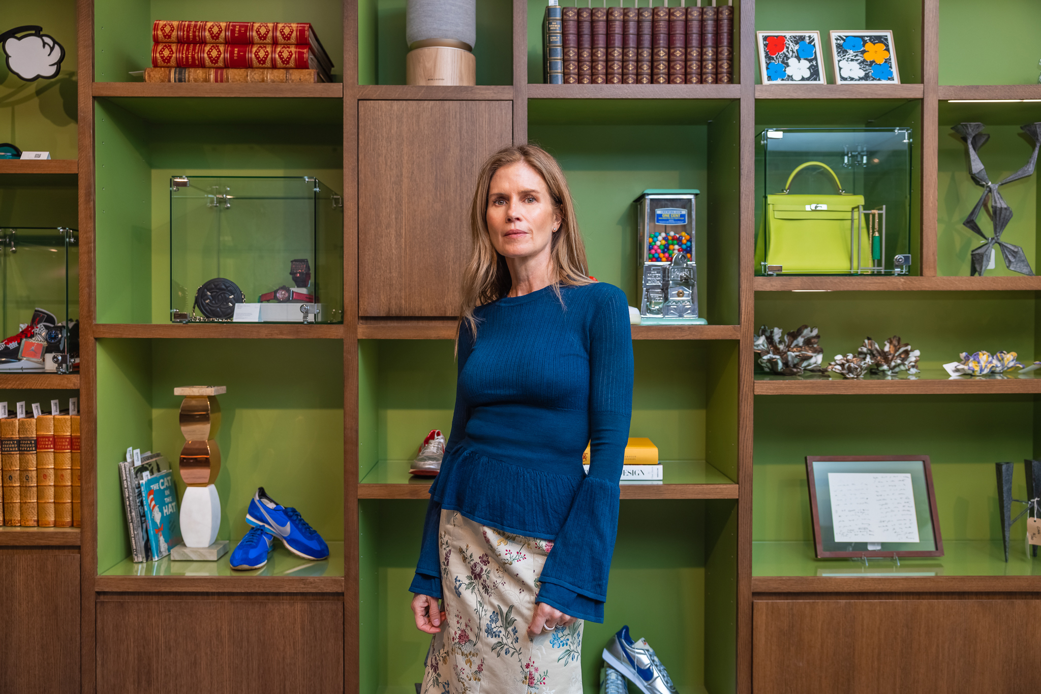 """Gucci Westman at """"The Emporium"""" at Sotheby's."""