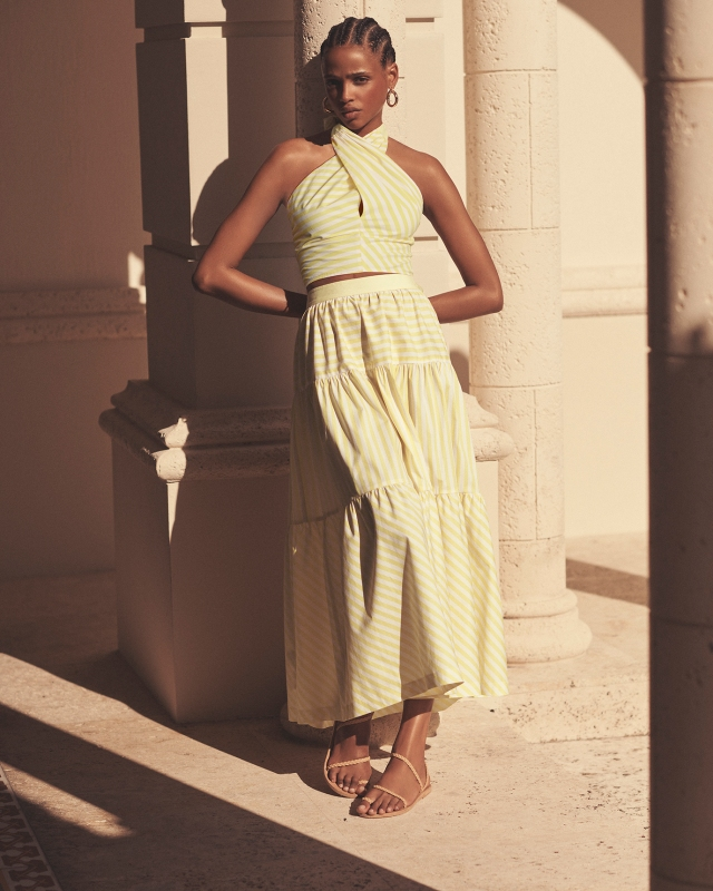 A look from INTERMIX x STAUD