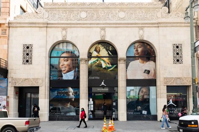Jumpman LA store