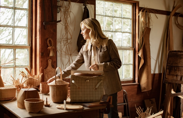 Tory Burch featured at Hancock Shaker Village.