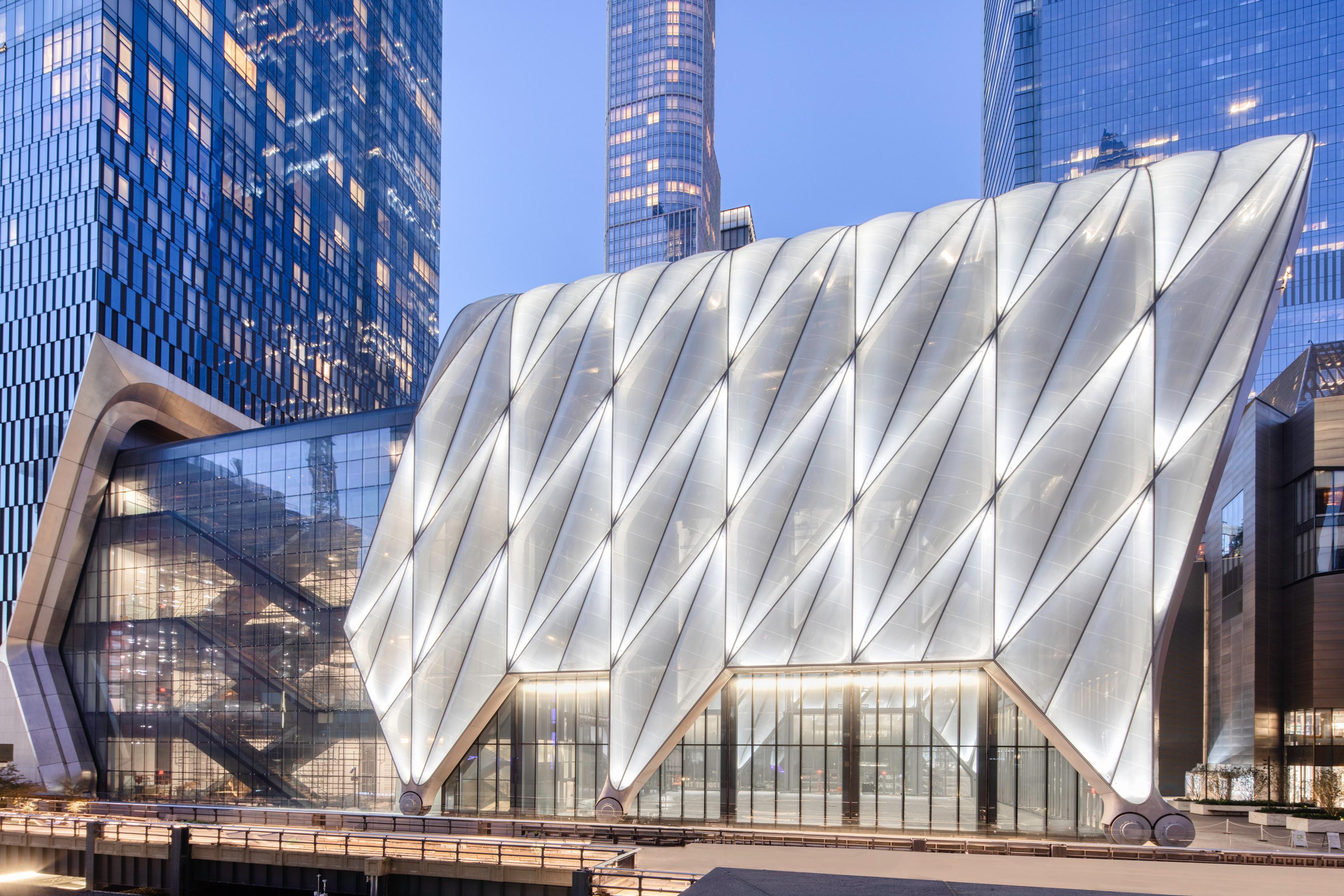 The Shed. New York, NY.Courtesy Brett Beyer
