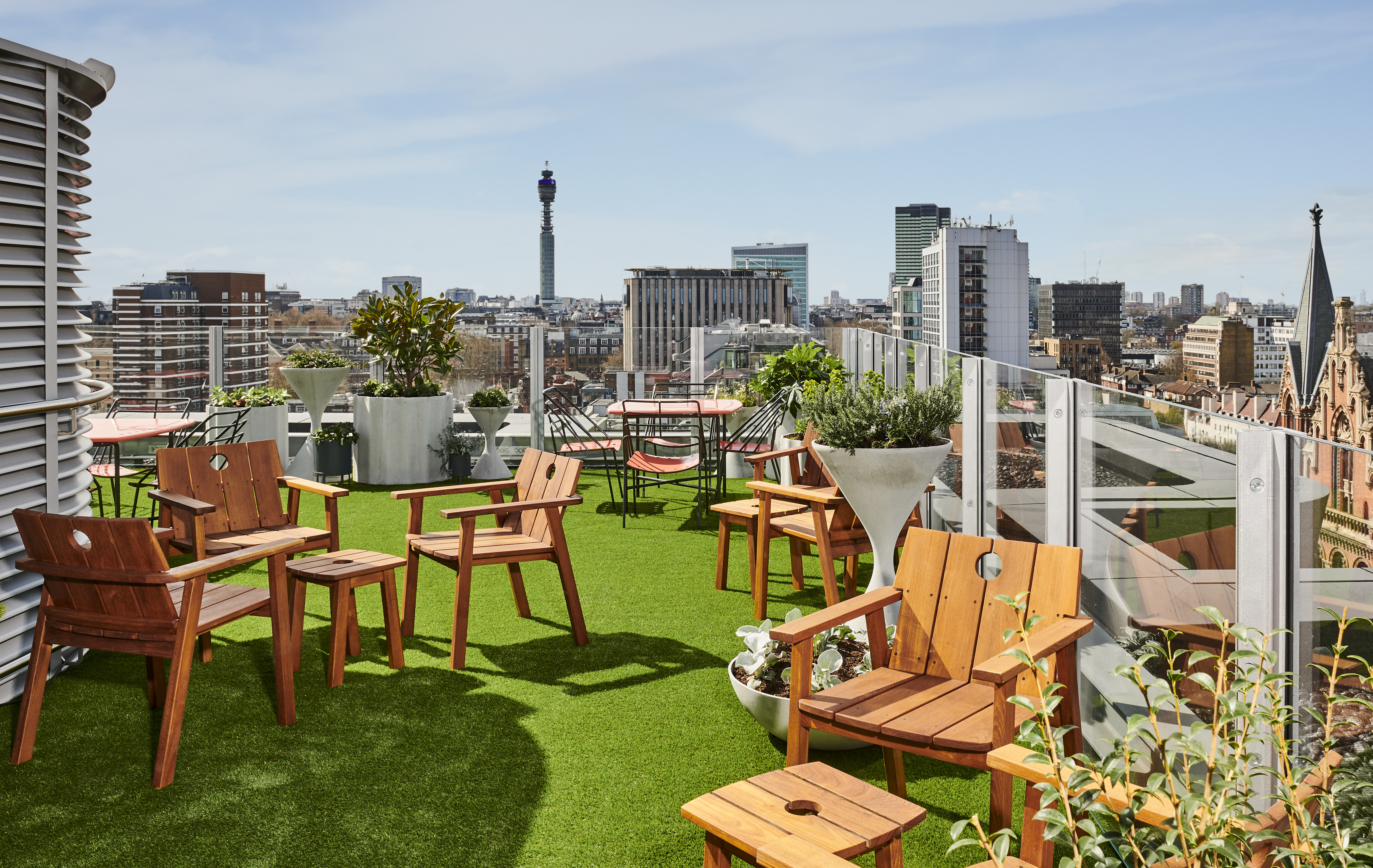 New rooftop bar at The Standard London