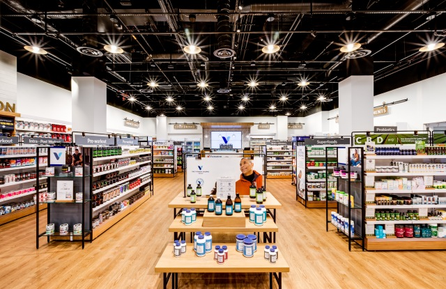 The Vitamin Shoppe's remodeled unit in Edgewater, N.J.