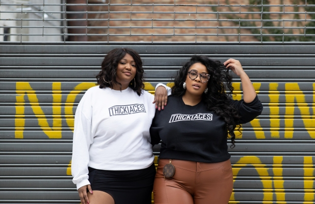 Thick Laces founders Katie Alexis and Essie Golden