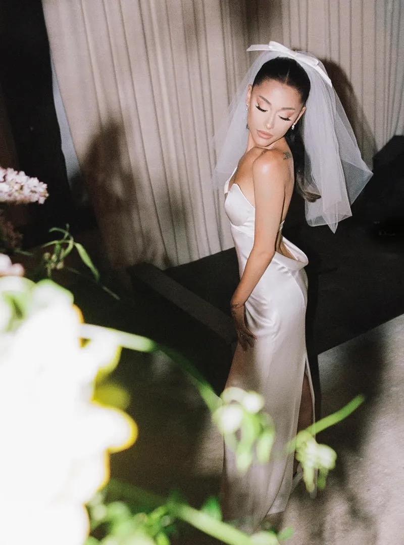 Ariana Grande Wedding: Details, Closer Look at Vera Wang Wedding Dress