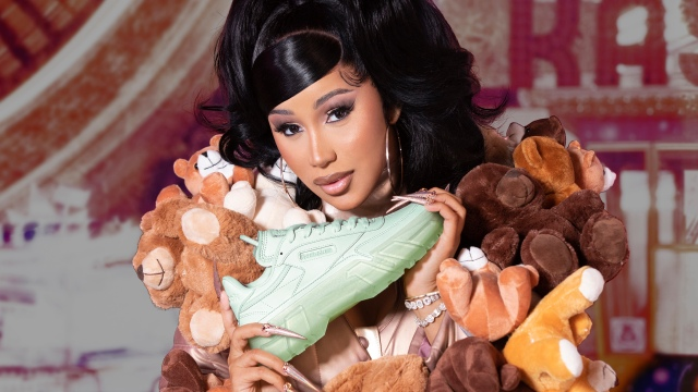Cardi B and Reebok to Release 'Mommy and Me' Collection