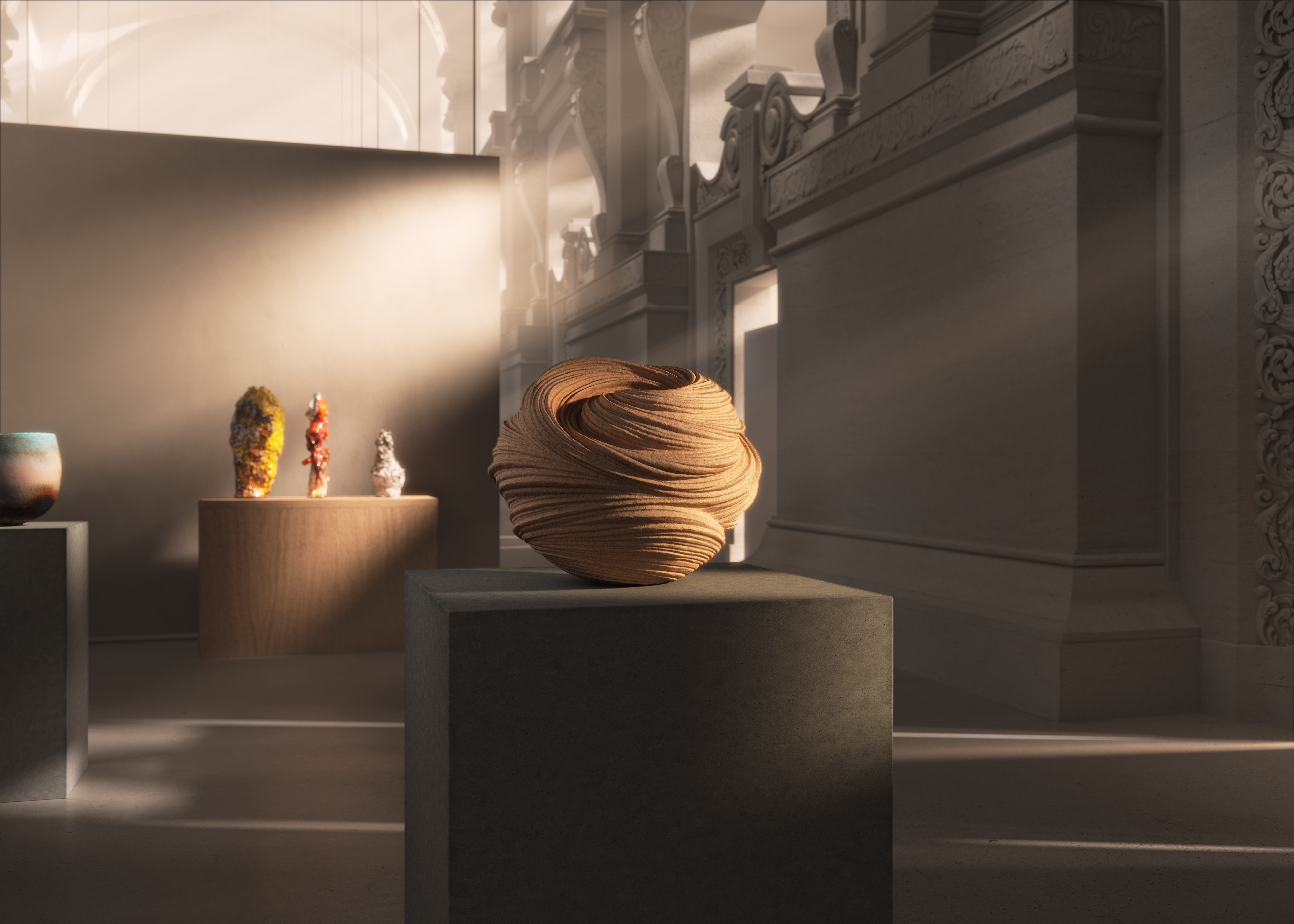 The digital exhibition of the 2021 Loewe Foundation Craft Prize.