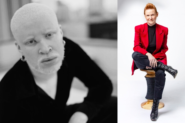 Shaun Ross and Amy Bond.