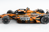 The #7 Arrow McLaren SP race car by Undefeated